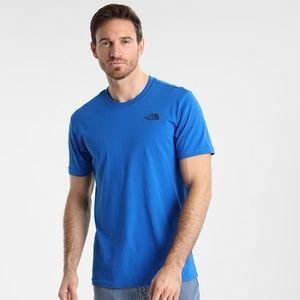 The North Face men's blue shirt